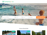 Screenshot von Camping and co