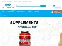 Screenshot von NX Nutrition