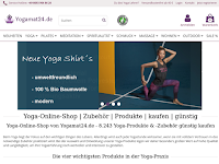 Screenshot von Yogamat24.de