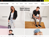 Screenshot von River Island