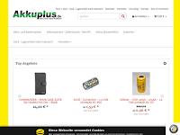 Screenshot von Akkuplus.de
