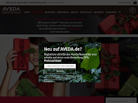 Screenshot von Aveda