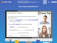 Screenshot von Easy-Tutor