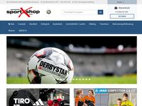 Screenshot von sportXshop.de