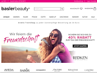 Screenshot von mussler-beautynet