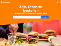 Screenshot von Lieferheld.de