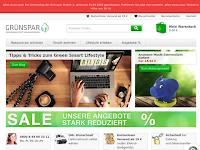 Screenshot von Grünspar