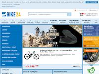 Screenshot von Bike24.de