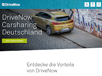 Screenshot von DriveNow