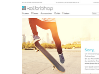 Screenshot von Kolibrishop
