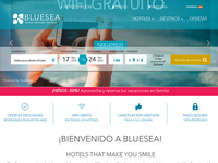Screenshot von Blue Sea Hotels