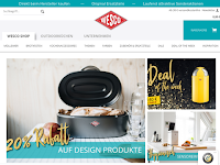 Screenshot von Wesco Onlineshop