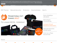 Screenshot von ZDF Shop