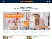 Screenshot von abo-direkt.de