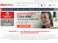 Screenshot von Onedirect