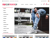 Screenshot von ClubFashion24
