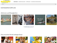 Screenshot von Edingershops