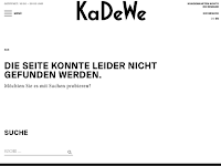 Screenshot von KaDeWe