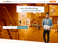 Screenshot von Lexoffice