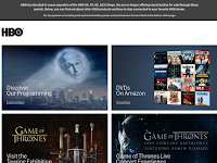 Screenshot von HBO Shop