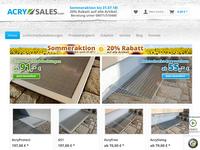 Screenshot von Acry Sales