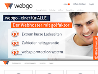 Screenshot von Webgo