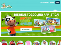 Screenshot von Toggolino Club