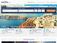 Screenshot von Amoma.com