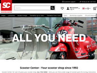 Screenshot von Scooter Center
